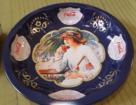"1995 Round 10"" Coca Cola Tin - $14.35"