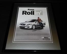 2008 Toyota Corolla Framed 11x14 ORIGINAL Vintage Advertisement - $34.64
