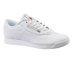 Reebok Classic Princess White Leather CN2212 Womens Causal Sneakers - $47.95