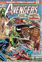 The Avengers Comic Book #121, Marvel Comics Group 1974 VERY FINE/NEAR MINT - $31.85