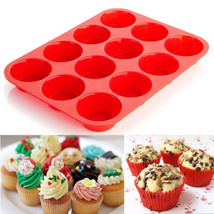 Cup cake / muffin  silicone tray - $5.50
