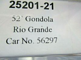 Trainworx Stock # 25201-23 to -24  Rio Grande Orange Paint Scheme 52' Gondola (N image 6