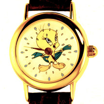 Tweety Bird Showering On Animated Dial, Fossil Warner Bros Watch Collect... - $117.66