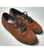 Munro Sport Brown suede lace up walking shoe womens 6 B - $46.02 CAD
