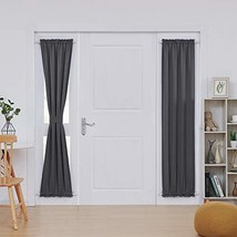 Deconovo Rod Pocket Door Panel Curtain Thermal Insulated Curtains for Li... - $16.26