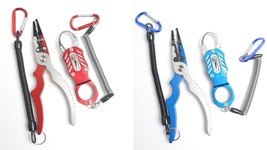 Fishing Tool Aluminium Alloy 18cm 107g Durable Pliers With Fish Lip Grip... - $32.99