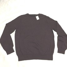 NEW J.Crew Men's  cotton sweater Crewneck Burgundy Size XL - $22.27