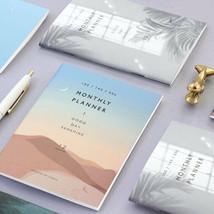 A6 Mini Monthly Planner Ver.3 Undated Journal Scheduler Diary Organizer ... - $7.99