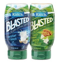Hidden Valley Ranch Blasted Creamy Dipping Sauce, Zestier Ranch and Ranch-Dipped