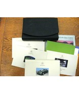 2001 Mercedes Benz E class OEM Owners Manual Set E320 E430 E55 AMG w Lea... - $59.40