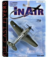 In Air Die Cast Flyers P-40 War Hawk Military Airplane Small Scale Free ... - $15.83