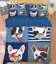 3D Funny Dogs 17 Bed Pillowcases Quilt Duvet Cover Set Single Queen King Size AU - $64.32+
