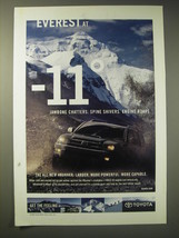 2002 Toyota 4Runner Ad - Everest at -11 Jawbone Chatters. Spine Shivers.  - $14.99