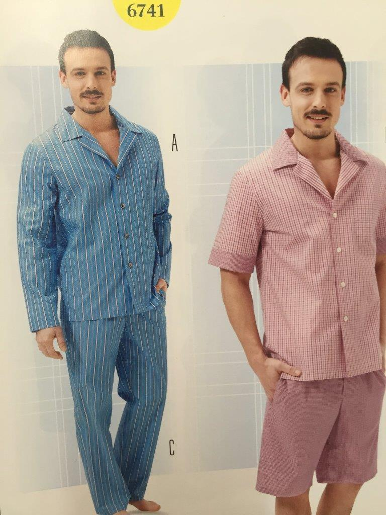 Burda Sewing Pattern 6741 Mens Pyjamas Size and 50 similar items. S l1600 21358ae6d
