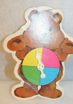 Care Bears Warm Feelings Board Game Replacement Spinner VTG 1984 Parker ... - $9.95
