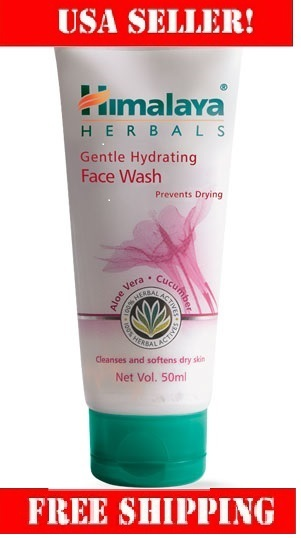 Gentle hydrating face wash