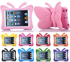 NEW 3D Butterfly Shockproof EVA Foam Stand Cover Case for iPad 9.7 2017 ... - $14.55
