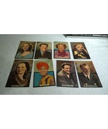 1940s Famous Film Stars Oversized 8x Cards 3D Pop Up Gary Cooper Ginger ... - $77.39