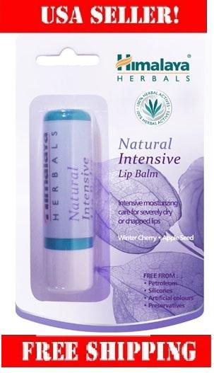 Natural intensive lip balm