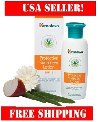 Himalaya Protective Sunscreen Lotion 50ml protects from harmful UV rays