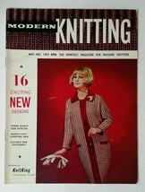 Vintage Modern Knitting Magazine November December 1963 For Machine Knit... - $14.99