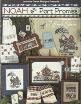 Cross Stitch Pattern Booklet-Alma Lynn-Noah at Port Promise - $4.95
