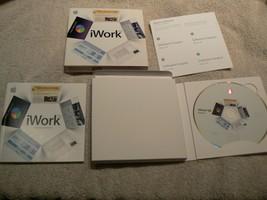Apple iWork' 08 Office Software Suite Mac Keynote / Pages / Numbers  EXC... - $13.99