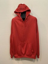 Adidas Climawarm Hoodie Pull Over Sweatshirt Red 2XL - $20.79