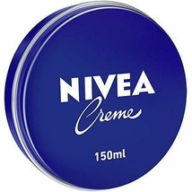 NIVEA Cream All Purpose Cream, in a blue tin 150 ML ( pack of 6) - $32.29