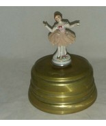 Vintage Musical Ballerina Video to watch Swiss Co Metal Stand New York NY  - $32.99