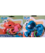 Sesame Street Beginnings Rattle with Rings - 0-18 Months - $5.99