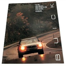 1986 Buick Full Line Sales Brochure Buyer's Guide Dealer Car Auto Advert... - $18.81