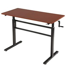 SDADI Crank Adjustable Height Standing Desk - Sit to Stand up Desk, Home... - $232.44