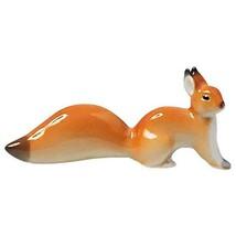 Red Squirrel Lomonosov Imperial Porcelain St Petersburg Russia Miniature... - $20.74