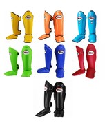 Twins Special SGL-10 Solid Color MUAY THAI KICK BOXING MMA SHIN PADS GUARDS - $87.20+