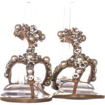 Steve Madden Chantel Flat Ankle Strap Sandals, Blush Multi 115, Blush Multi, 7 image 2
