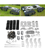 6-12V CNC Metal Robot RC Tank Tracked Chassis Suspension Obstacle Crossi... - $194.39