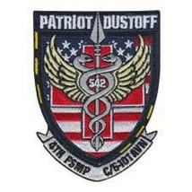 Us Army Patriot Dustoff Patch Sticker - $9.89