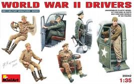 Miniart Models - 35042 - World War II Drivers - $15.99