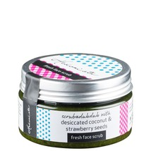 Fresh Face Scrub - Gel based, mild scrub with coconut & strawberry 105 gms - $20.00