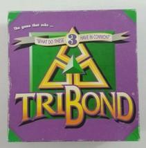 TriBond Board Game 1992 Big Fun Games  - $23.36