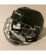CCM RES100 Hockey Helmet Size XS Black with CCM FM580 Size XS Face Cage  - $29.99