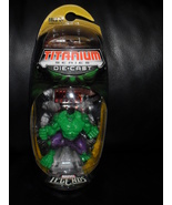 Marvel Legends Titanium Series Die Cast Incredible Hulk Figure In The Pa... - $33.24
