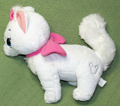 "12"" Disney Store MARIE Aristocats SILVER MICKEY Plush Stuffed Cat Kitten... - $14.03"