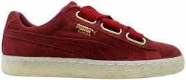 Puma Suede Heart Celebrate Red Dahlia 365561 02 Women's Size 10 - $37.91