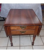 Solid Cherry Pennsylvania House Dropleaf End Table / Side Table - $399.00