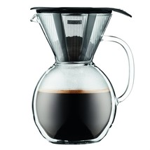 Bodum 11672-018 Cup Double Wall Pour Over Coffee Maker with Glass Handl... - £62.86 GBP