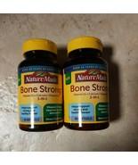 SET OF 2-Nature Made Bone Strong Vit D, Calcium, Magnesium 60 softgels E... - $14.99