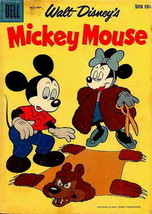 Mickey Mouse (Walt Disney's…) #62 VG; Dell | low grade comic - save on s... - $7.99