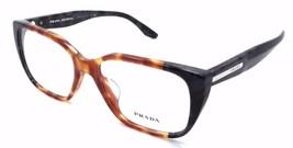 Prada Rx Eyeglasses Frames Vpr 08T-F U6L-1o1 53x16 Havana / Spot Grey As... - $76.44